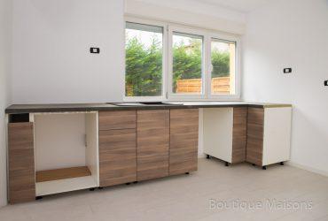 Maison 1 - Espace cuisine (ouverte vers le salon)