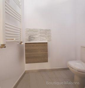 Maison 1 - Groupe WC avec lavabo